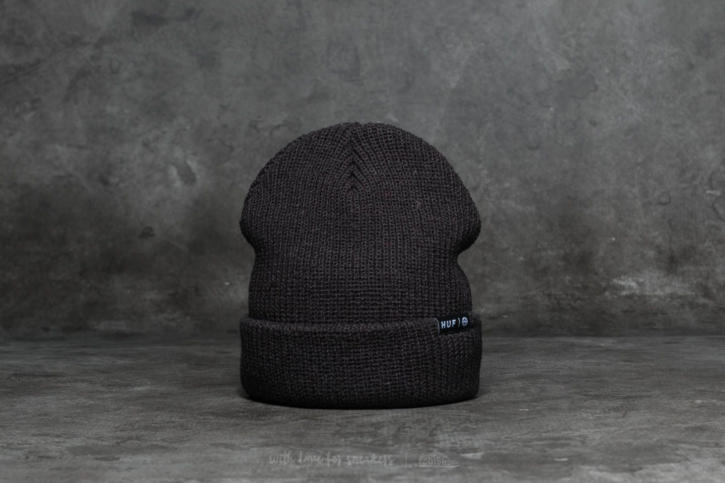 HUF Usual Beanie Black  325a05ee3a1