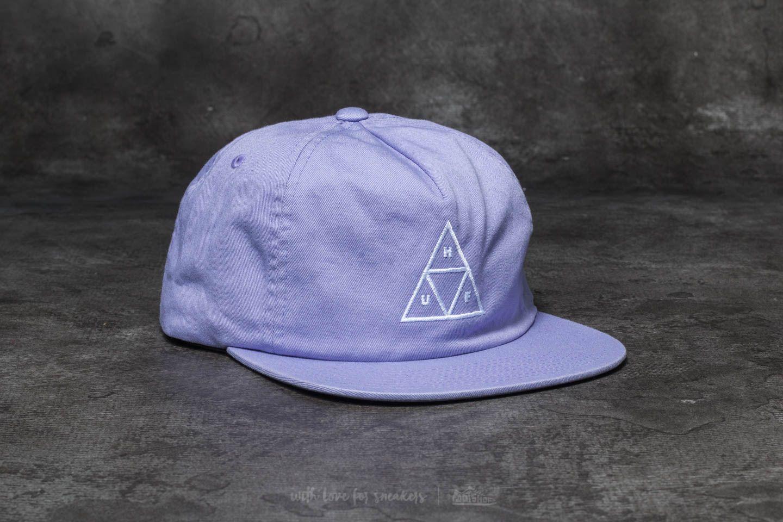 HUF Wash Triple Triangle Snapback Purple