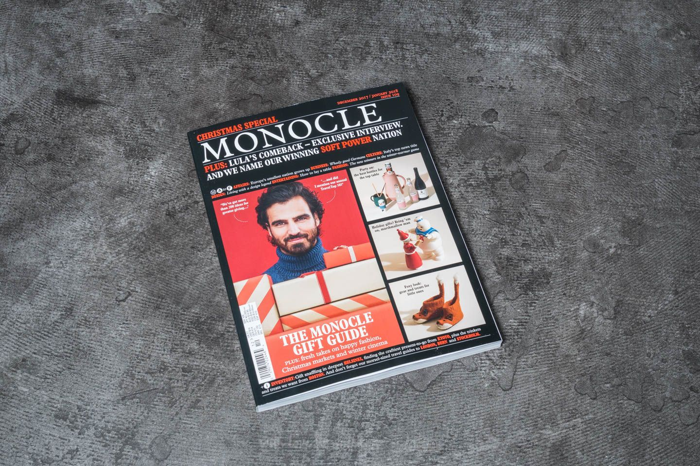 Monocle Christmas Special Magazine December 2017/ January 2018