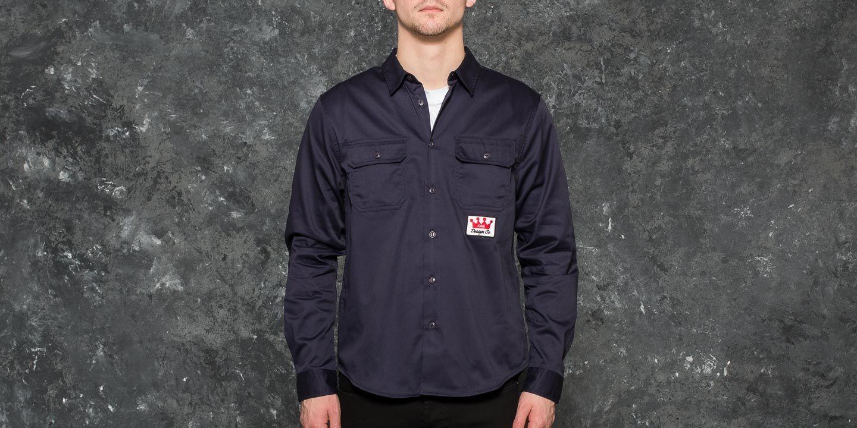 Stüssy Work Shirt Navy za skvělou cenu 1 250 Kč koupíte na Footshop.cz