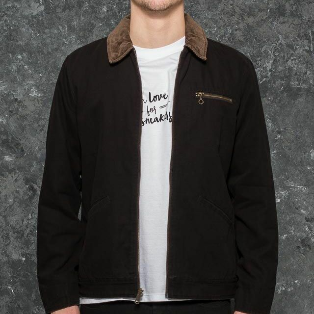 HUF JD Work Jacket Black