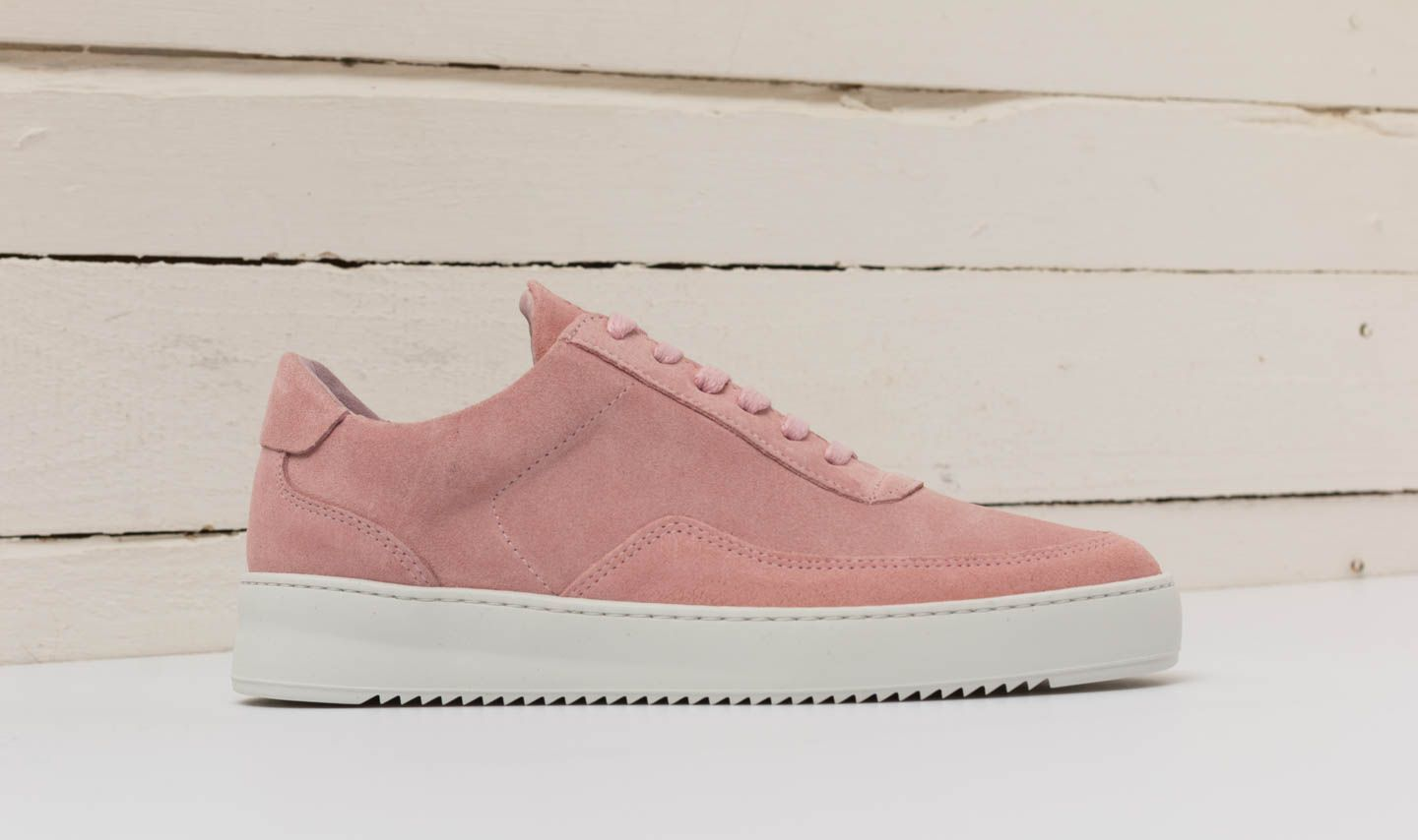 ea4a4f6dd4b148 Filling Pieces Low Mondo Ripple Nardo Light Pink at a great price £76 buy at