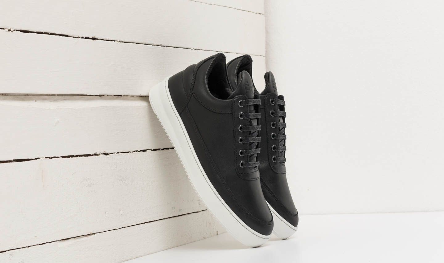 Filling Pieces Low Top Ripple Lane Nappa Black at a great price 102 € buy at Footshop