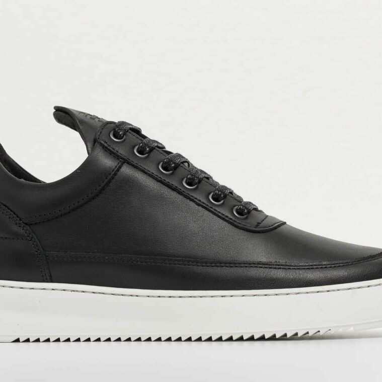 Filling Pieces Low Top Ripple Lane Nappa Black