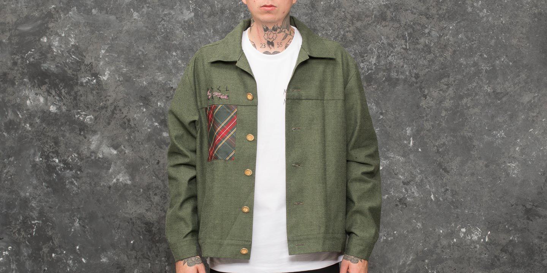 My Dear clothing by Nik Denim Jacket Green