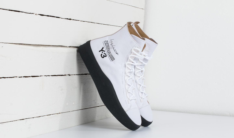 Y-3 Bashyo Footwear White/ Core Black