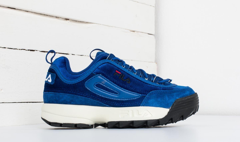 shoes FILA Disruptor V Low Wmn Royal Blue