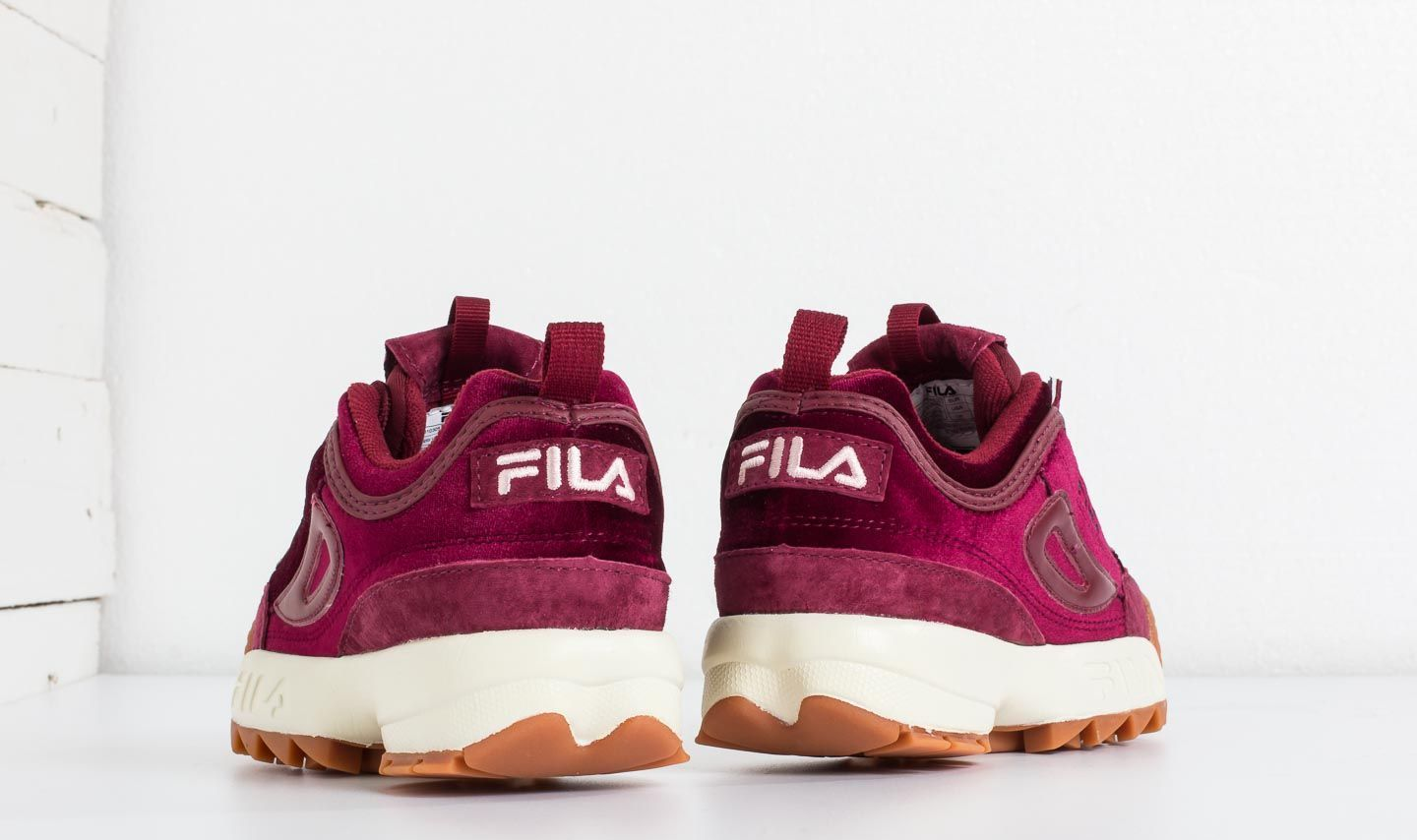 FILA Disruptor V Low Wmn Red Velvet | Footshop