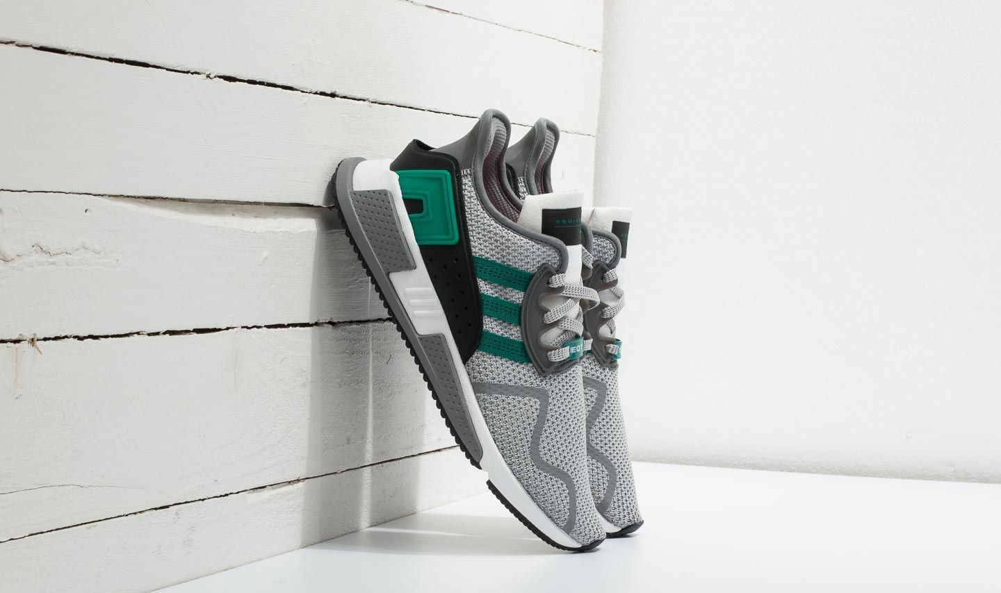huge discount 1deb1 4e9c7 adidas EQT Cushion ADV Grey Two Sub Green Ftw White at a great price