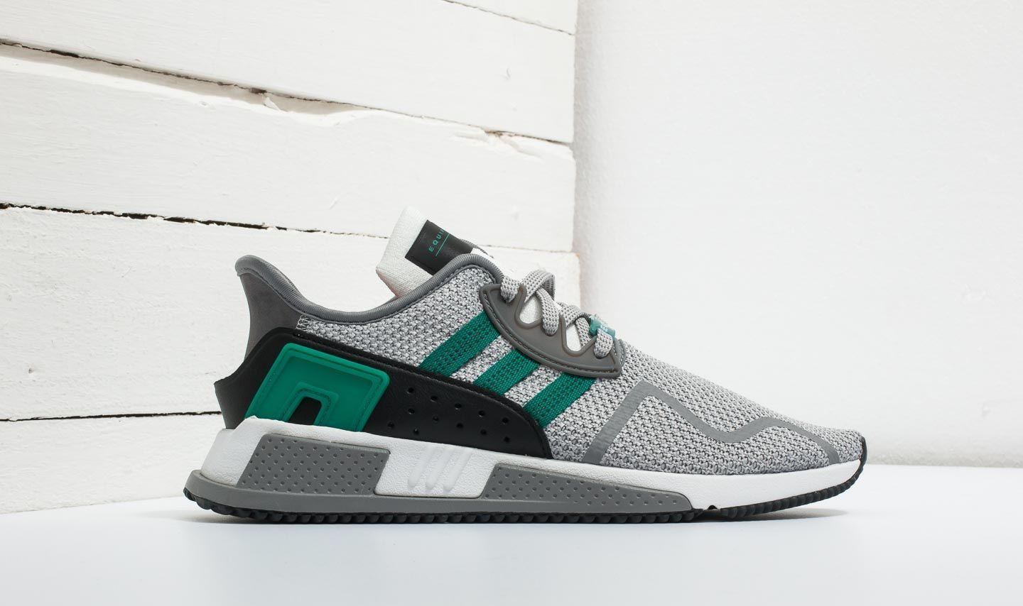 huge discount 46d1e 35cc8 adidas EQT Cushion ADV Grey Two Sub Green Ftw White at a great price