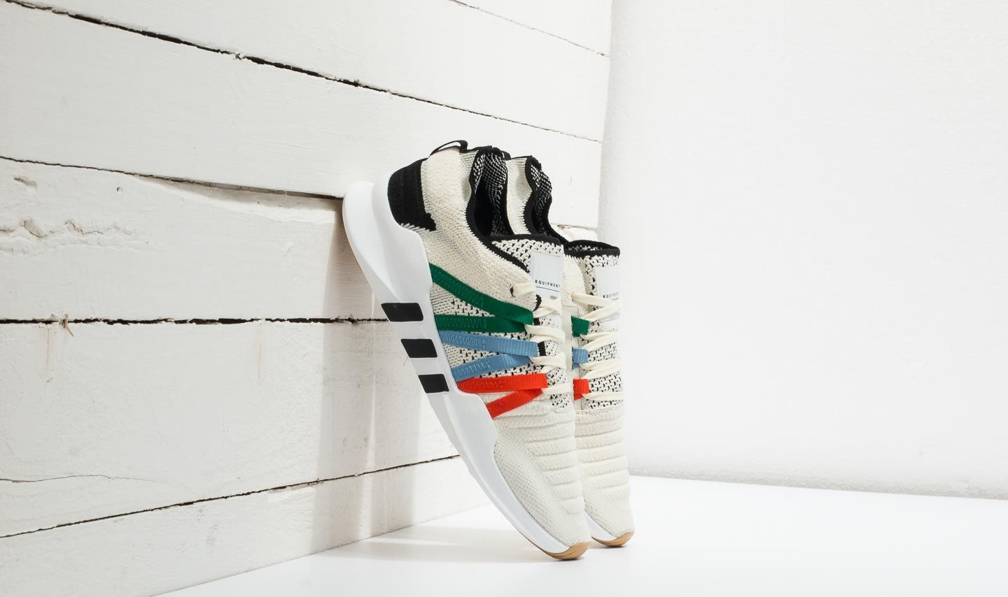 Chaussures et baskets femme adidas EQT Racing ADV Primeknit W Cream White/ Bold Orange/ Core Black