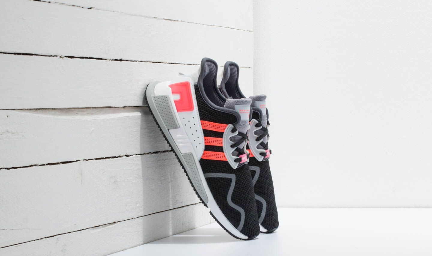 premium selection a6a7b 1d1dd adidas EQT Cushion ADV. Core Black Sub Green Ftw White