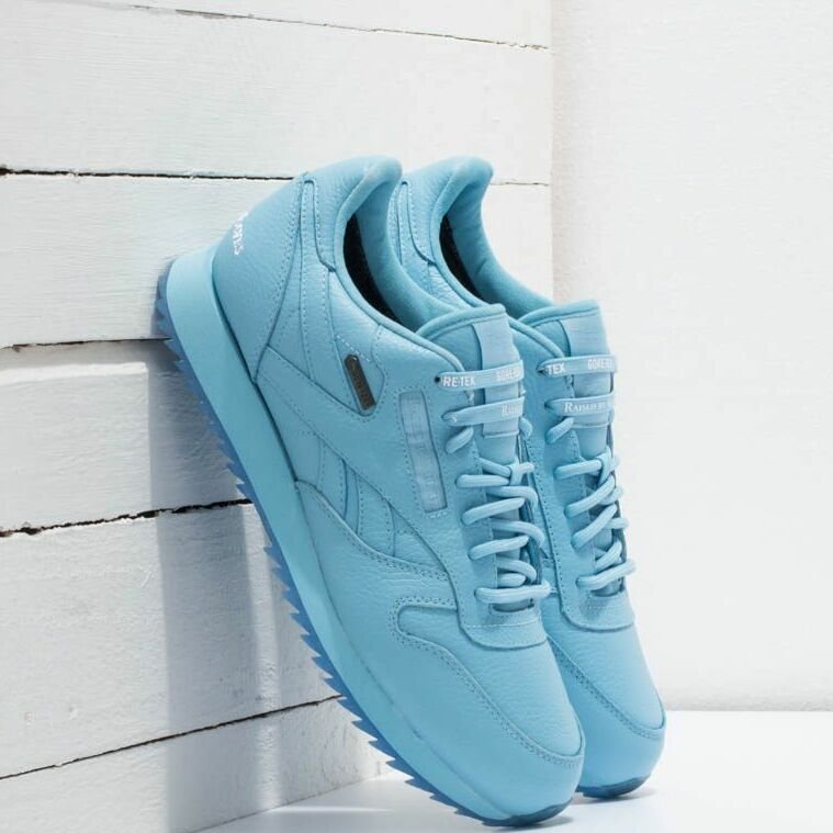 Reebok x Raised by Wolves Classic Leather Ripple Gore-Tex Cape Blue/ White-Ice EUR 44.5