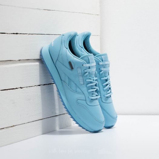 c9a12ef9aea80 Reebok x Raised by Wolves Classic Leather Ripple Gore-Tex Cape Blue  White-