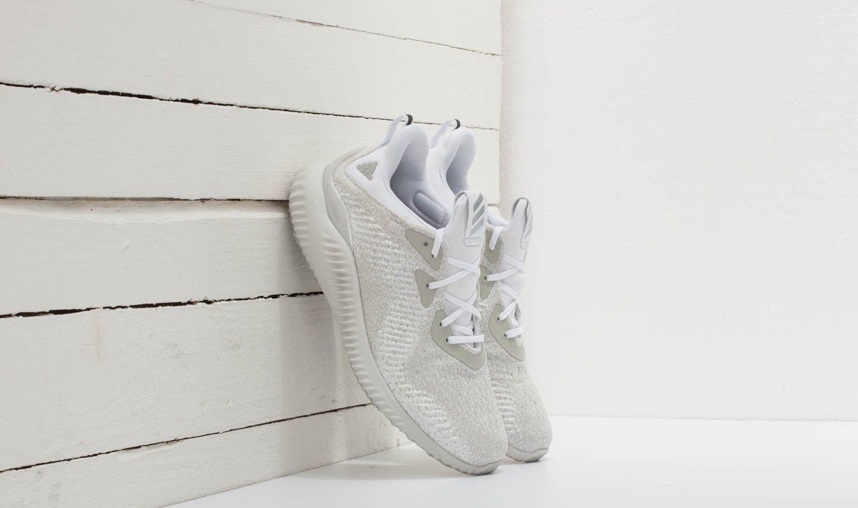 Pánské tenisky a boty adidas Alphabounce EM Ftw White/ Silver Metallic/ Off White