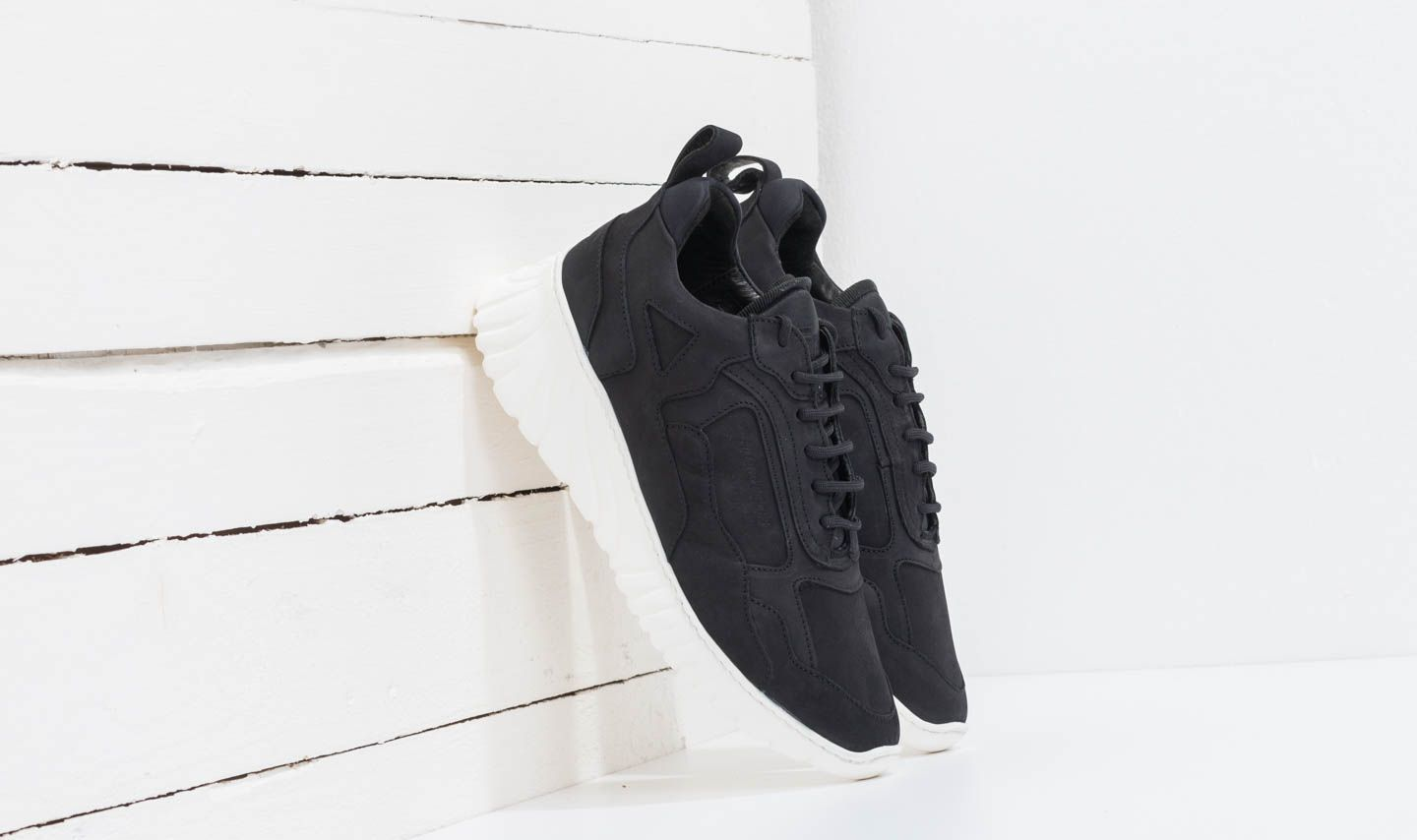 Filling Pieces Low Curve Roots Loop Black
