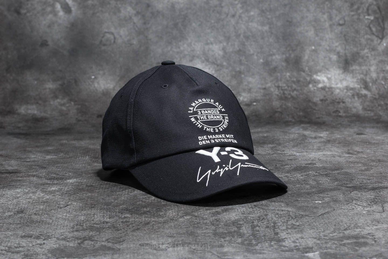 Y-3 Street Cap Black  bc9635a33ba