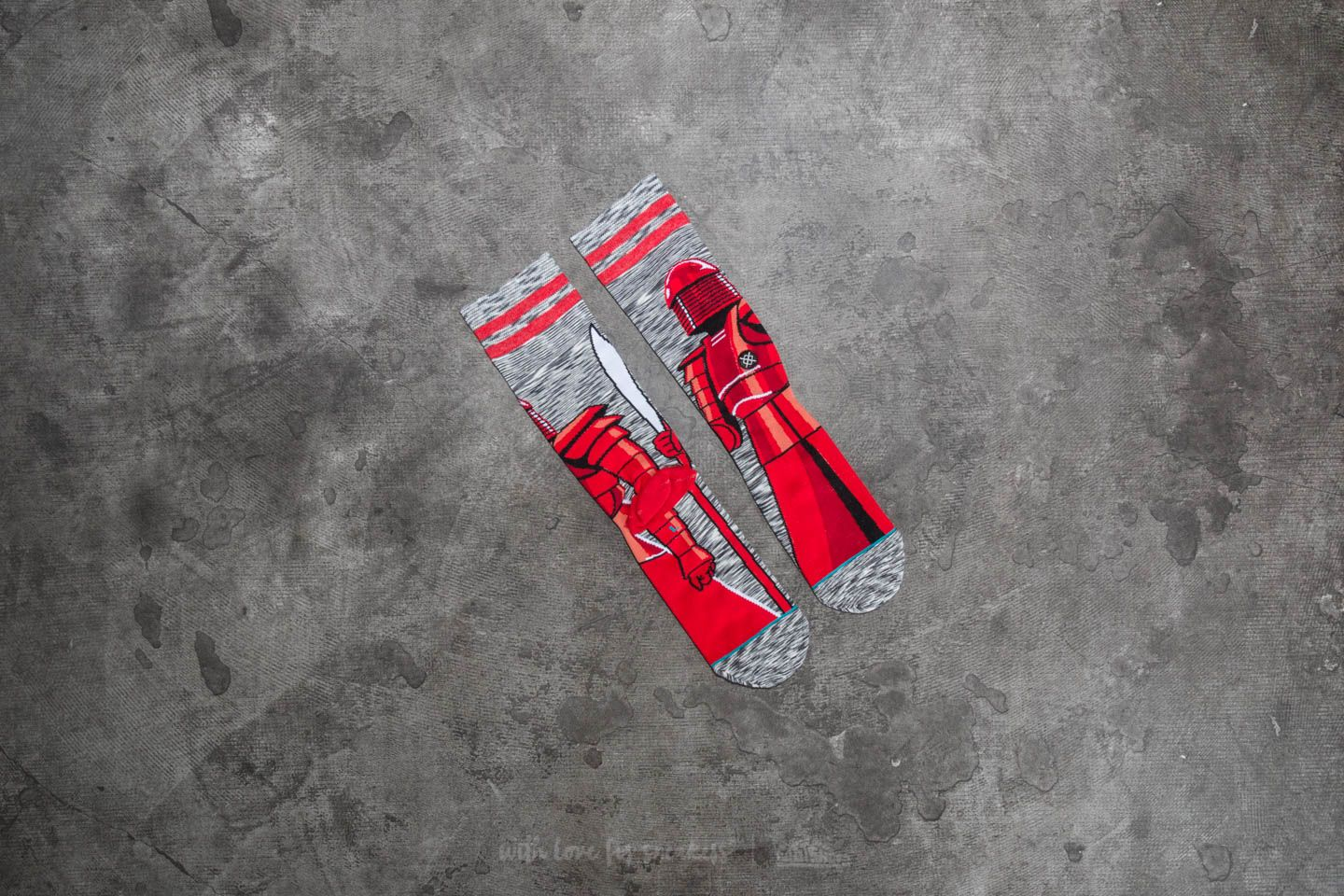 Stance Red Guard Grey