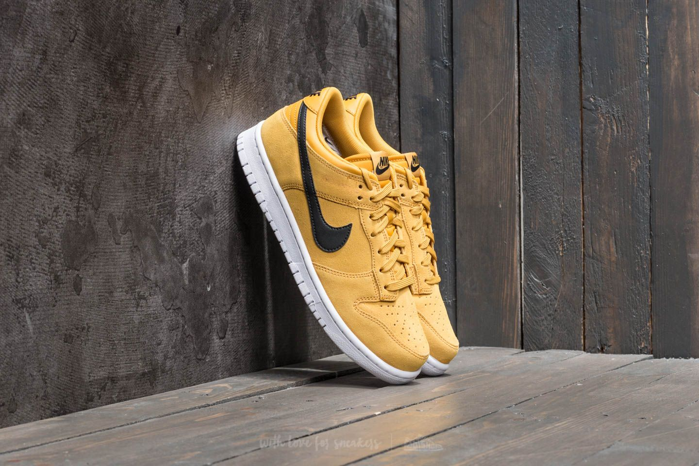 premium selection 76f52 629ce Nike Dunk Low Mineral Yellow  Black-White   Footshop