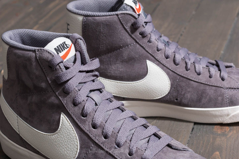 Nike Wmns Blazer Mid Vintage Suede Gunsmoke Sail Black   Footshop