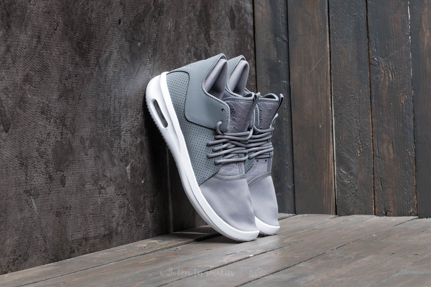 c3149bc185 Air Jordan First Class Cool Grey/ White | Footshop