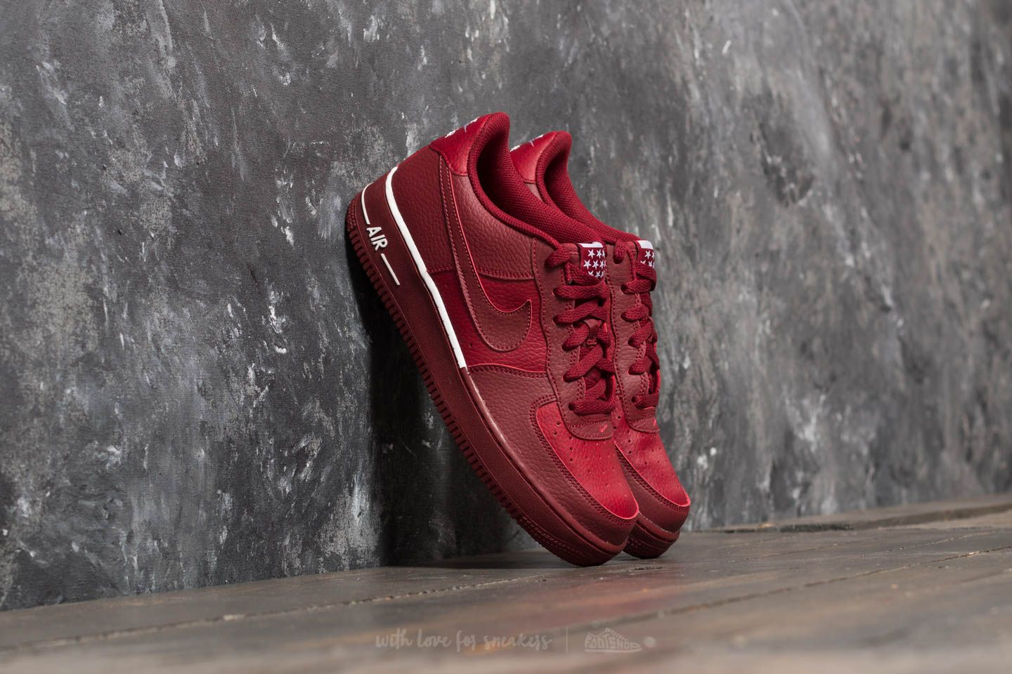 Nike Air Force 1 Gs Team Red Team Red White Footshop