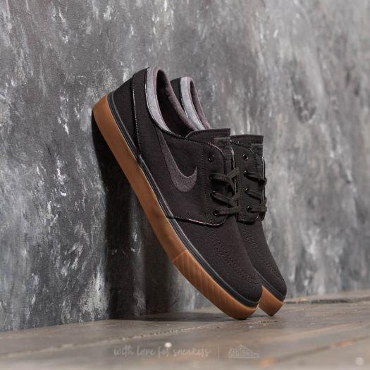 Altoparlante Shetland Peaje  Men's shoes Nike Zoom Stefan Janoski Canvas Black/ Anthracite- Gum Medium  Brown | Footshop
