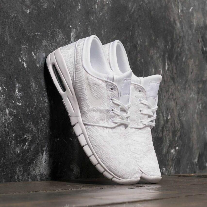 Nike Stefan Janoski Max White/ White-Obsidian EUR 43