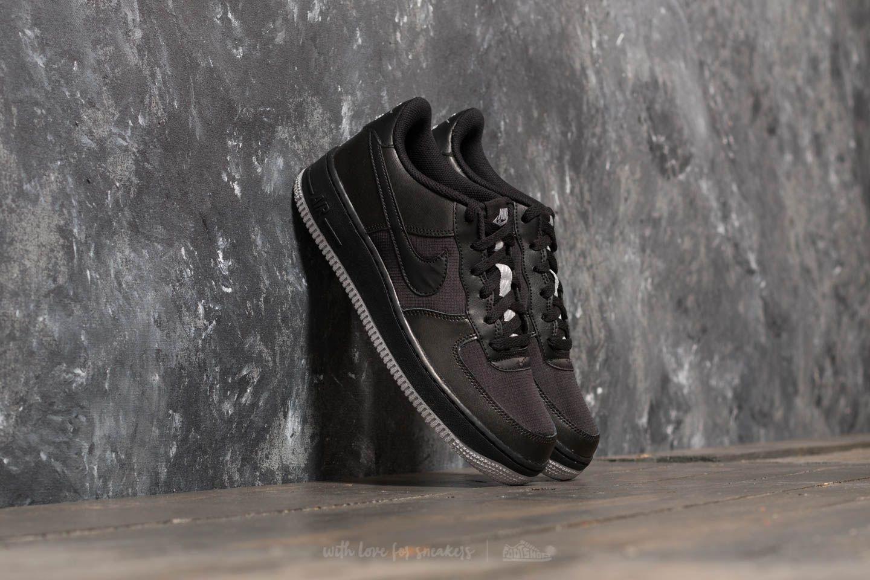 best loved efc41 e211f Nike Air Force 1 LV8 (GS). Black  Black  Wolf Grey