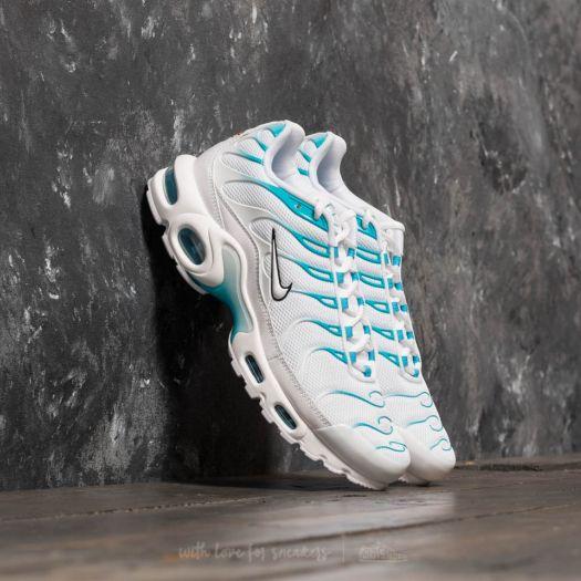 Nike Air Max Plus White White Light Blue Fury | Footshop