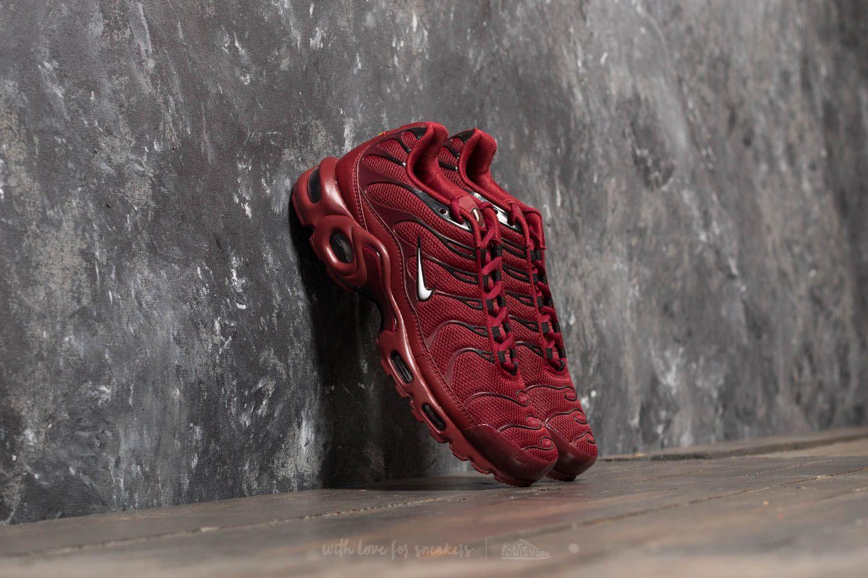 Men S Shoes Nike Air Max Plus Team Red White Black Footshop
