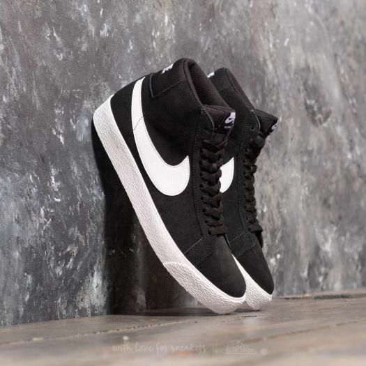 size 40 0b1e7 4dadb Nike SB Zoom Blazer Mid Black/ White-White-White | Footshop
