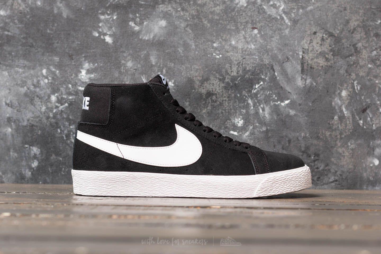 Nike SB Zoom Blazer Mid Black White White White | Footshop