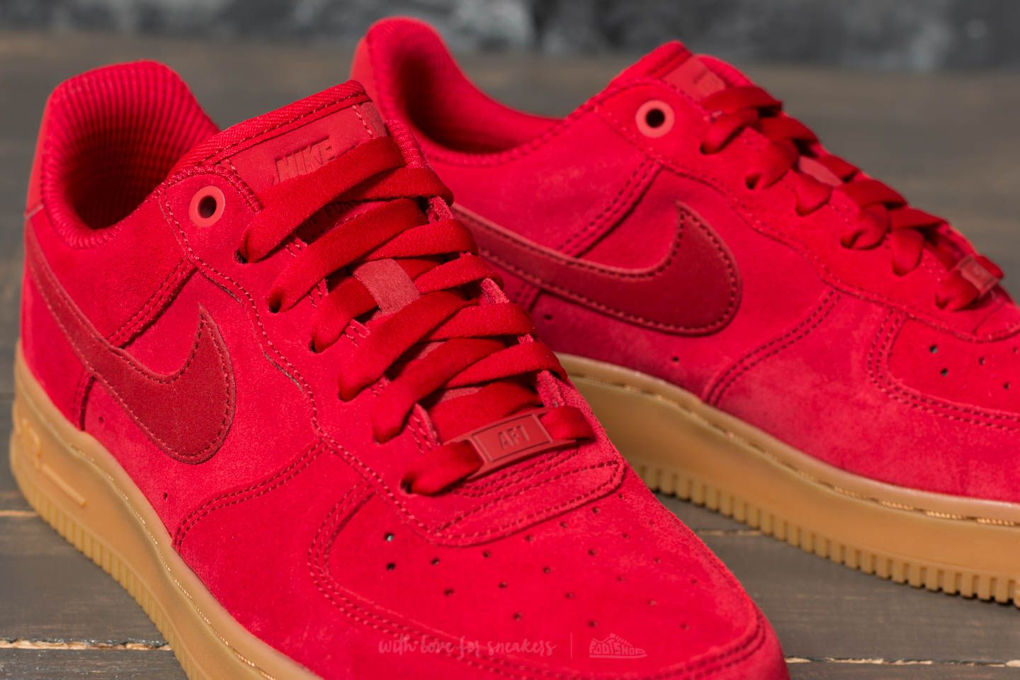 Nike Wmns Air Force 1 '07 SE Speed Red Speed Red | Footshop