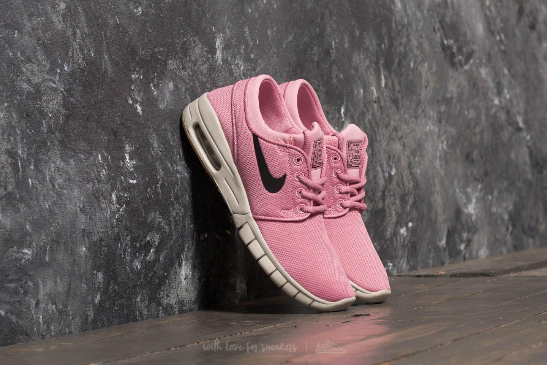 456bd2019056 Nike Stefan Janoski Max (GS) Elemental Pink  Black