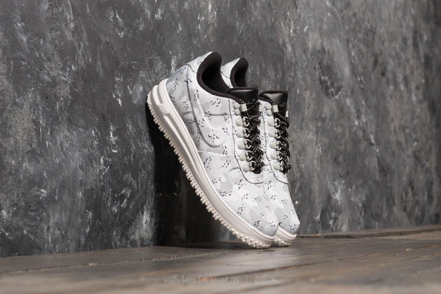Nike Lunar Force 1 Duckboot Low Wolf Grey Pure Platinum | Footshop