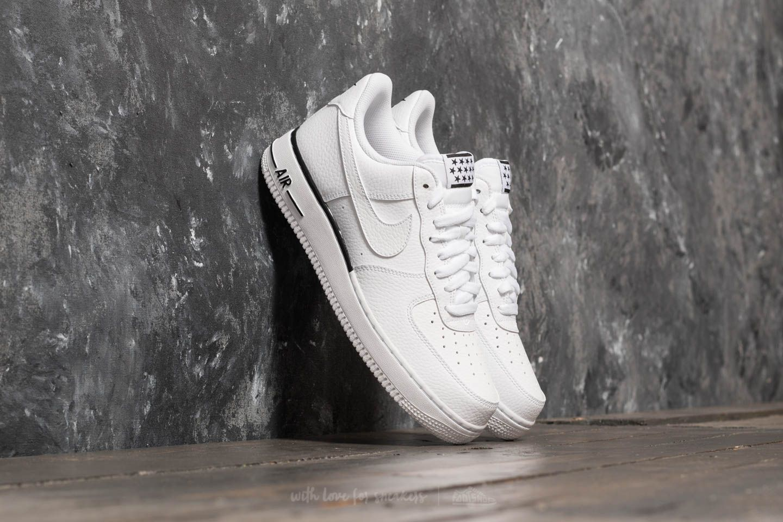 WhiteWhite Black Nike Air Force 1 '07 Premium AA4083 101