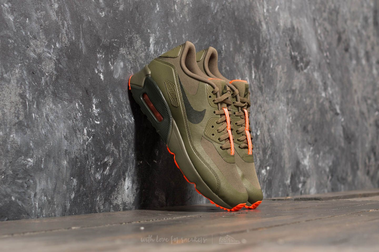 online store 36579 3aae3 Nike Air Max 90 Ultra 2.0 LE (GS) Medium Olive  Sequoia