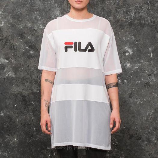 Dress FILA Emily Tee Dress White   Footshop