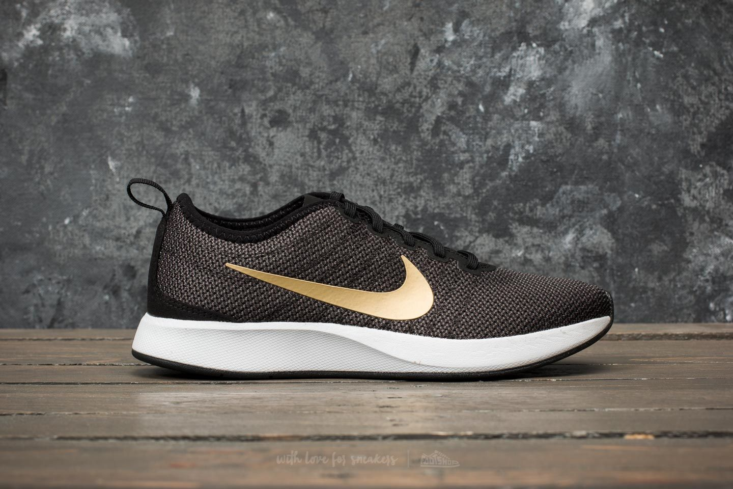 87bc9e9cb57e Nike W Dualtone Racer SE Black  Metallic Gold-Dark Grey at a great price