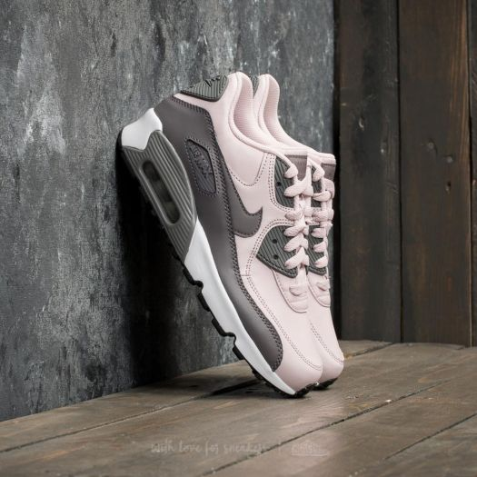 Nike Air Max 90 Leather (GS) Barely Rose Gunsmoke White | Footshop