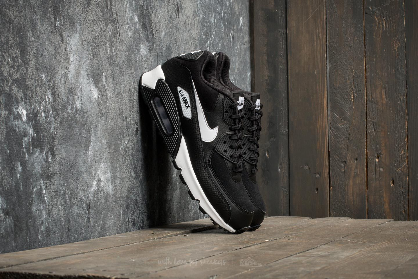 Nike Wmns Air Max 90 Black/ White