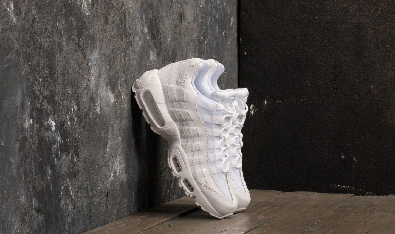 Damen Sneaker und Schuhe Nike Wmns Air Max 95 White/ White-White