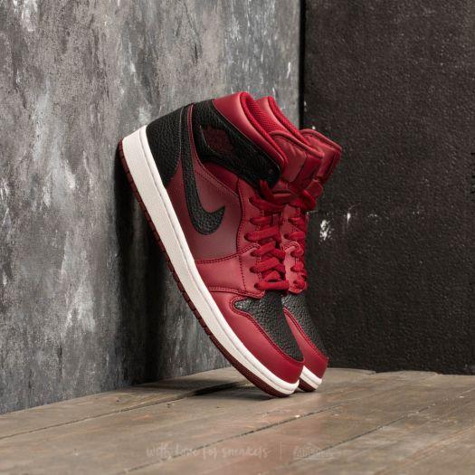 Men's shoes Air Jordan 1 Mid Team Red