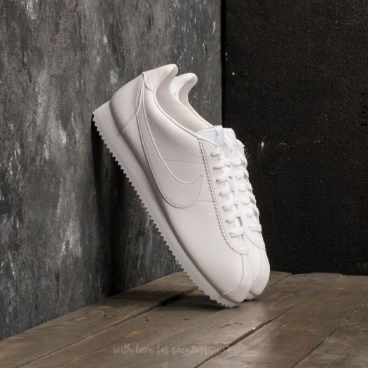 100% authentic 82ee2 46382 Nike Classic Cortez Leather White/ White-White | Footshop