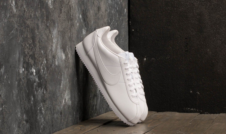 04544e45e2c Nike Classic Cortez Leather White  White-White