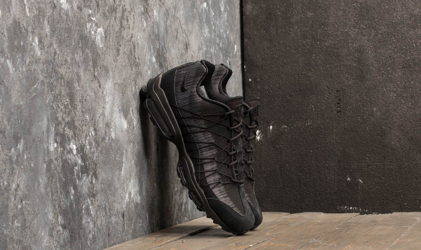 Nike Air Max 95 Ultra Jacquard Black/ Anthracite-Cool Grey