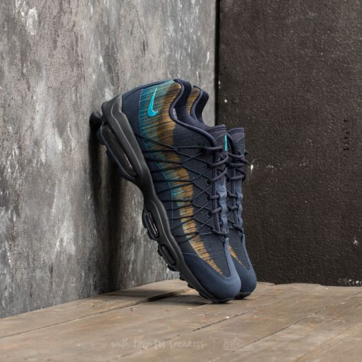 Nike Air Max 95 Ultra Jacquard Obsidian Light Blue Fury