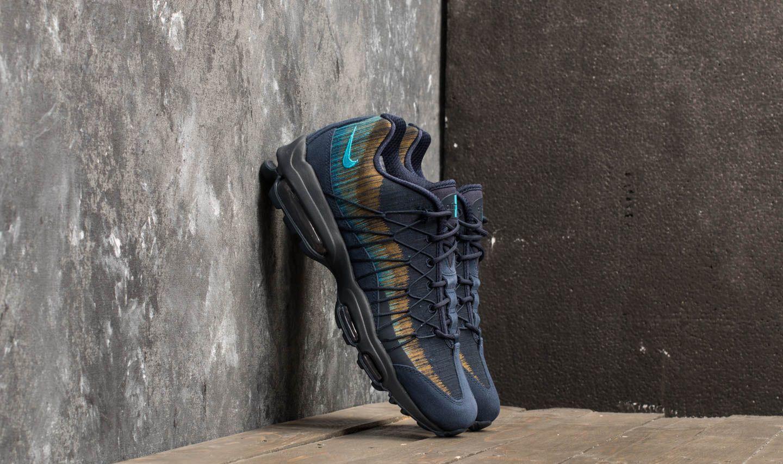 Nike Air Max 95 Ultra Jacquard Obsidian/ Light Blue Fury | Footshop
