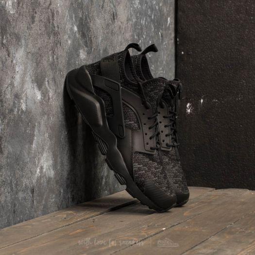 cascada consola referir  Men's shoes Nike Air Huarache Run Ultra SE Black/ Black-Dark Grey | Footshop